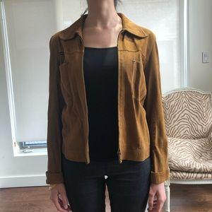 D&G suede camel jacket